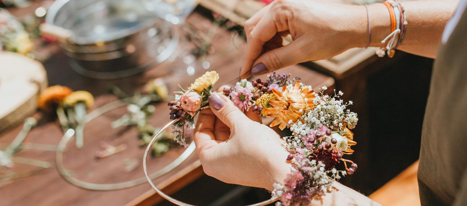 Blumenring Workshop Frischblumen